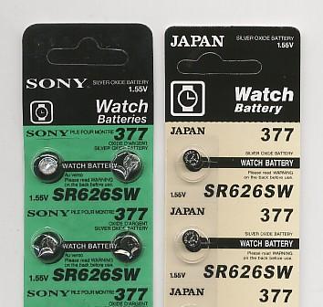 Importador de Pilas PILAS DE OXIDO DE PLATAPilas y Baterias de toda clase de relojes y articulos electronicos Distribuidor de pilas, relojes, baterias